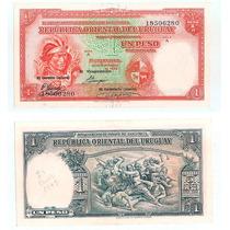 Billete Uruguay 1 Peso 1935