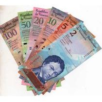 Venezuela Juego De Billetes De 2007 Bm 2081
