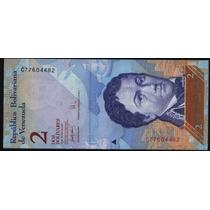 Venezuela 2 Bolivares Año 2007 S/c