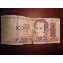 Billete De Venezuela 10000 Bolivares-c 20.298.759