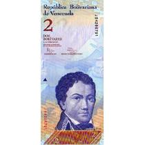 Venezuela 2 Bolivares 2012 Tematico Sin Circular Mire