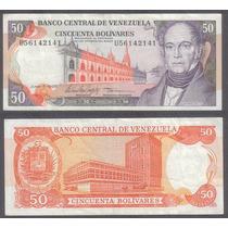 Billete Venezuela 50 Bolivares 1995