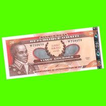 Haití - Billete Conmemorativo 20 Gourdes 2001 ¡ Sin Circ. !