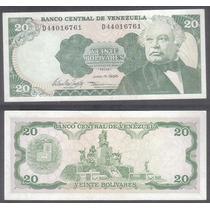 Billete Venezuela 20 Bolivares 1995