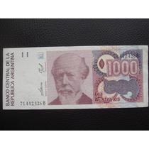 Argentina - Billete De 1000 Australes, Serie B - Impecable