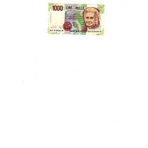 Billete 1000 Liras