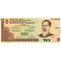 Bono De Chaco - 10 Quebrachos - Numismática San José