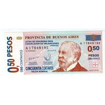 Barese2013 Bono De Emergencia 0.50 Centavos Sin Circular