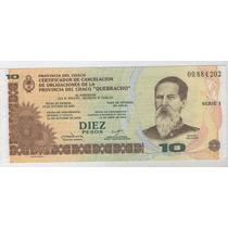 Billete Bono Chaco 10 Pesos Sin Circular