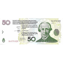 Ec# 208 Bono Argentino 50 Lecop (mb+) Palermo
