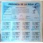 Bono De Cancelacion De La Rioja - En Mendoza