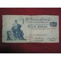 Billete De Cien Pesos Moneda Nacional El Progreso