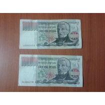 Billete 100.000 Pesos Ley Serie A O B Sin Circular