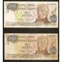 Billete De Argentina 1000 Pesos Precio Total X Los 2 Usados
