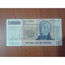 Billete 1.000.000 Pesos Ley Serie A