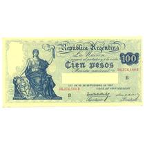1897 Caja De Conversion 100 $ Cien Pesos Bottero 1690 S/c-