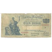 Argentina 100 Pesos Caja De Conversion Bot 1688 1928