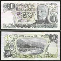 Billete Argentina 50 Pesos Año 1976/8 Nº301