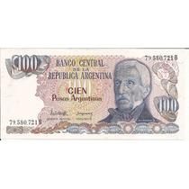 Lote Billetes $ 100 Pesos Argentinos Correlativos