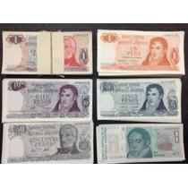 Billetes Argentinos Antiguos Sin Circulación Sin Uso S/c Okm