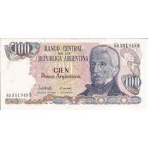 Billetes $ 100 Pesos Argentinos