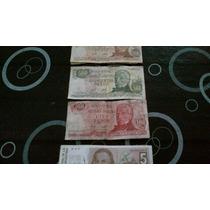 Billetes Antiguos Argentinos - Pesos Y Australes - Rosario