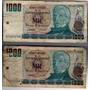 Billete 1000 Mil Pesos Argentinos