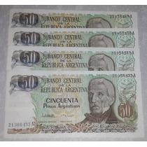 Billete 50 Pesos Argentinos - Cada Uno