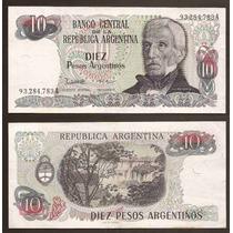 Billete 10 Pesos Argentinos
