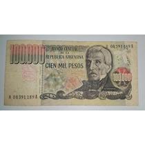 Billete 100.000 Pesos Argentina