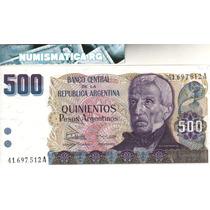 Bottero 2626a Billete De 500 Pesos Argentinos Año 1984 - Sc