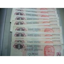 Billete De 1 Peso Argentino San Martin