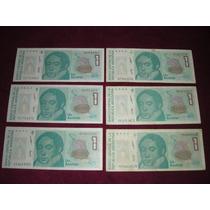 Lote Billetes Argentinos Antiguos - Australes Y Pesos