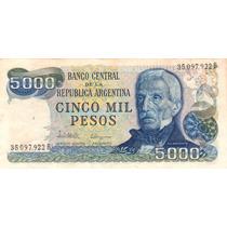 5000 Pesos Ley 18.188 Bottero