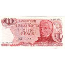 100 Pesos Ley 18.188 Bottero