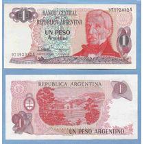 Argentina Billete 1 Peso Argentino - Año 1983 - Bottero#2604