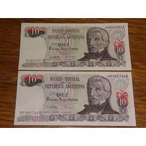 10 Pesos Argentinos Sin Circular..