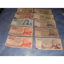 Billetes Antiguos Argentinos Lote