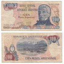 Argentina, Billete De 100 Pesos Argentino, Bottero 2621
