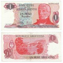 Argentina, Billete De 1 Peso Argentino, Bottero 2604