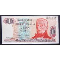 1 Peso Argentino Serie A Bottero 2601 Excelente