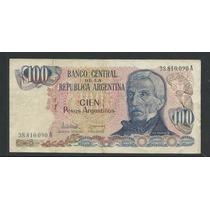 04* Billete Argentina 100 Pesos Argentinos