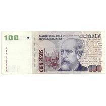 Gc - Argentina -100 Pesos -bottero 3704 -pou - Alvarez -exc.