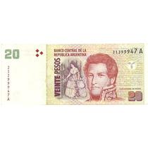 Argentina-$20 Convertibles-bottero 3502-exc+