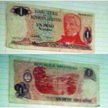 Billete Argentina 1 Peso