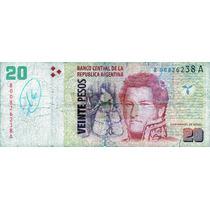 Bottero 3519 20 Pesos Reposición Redrado/scioli 2005/06 Reg