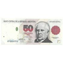 Argentina 50 Pesos Convertibles Mb Bot 3067