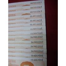 Lotes Billetes 1 Peso Ley 18.188 Y 18.188/60 Serie A-e-f