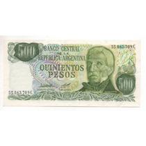 500 Pesos Ley18188 Bottero2428(a) Año 1979 Cd 4023