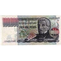 Billete 100.000 Pesos Excelente Estado Cod.7.54